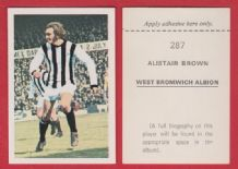 West Bromwich Albion Alistair Brown